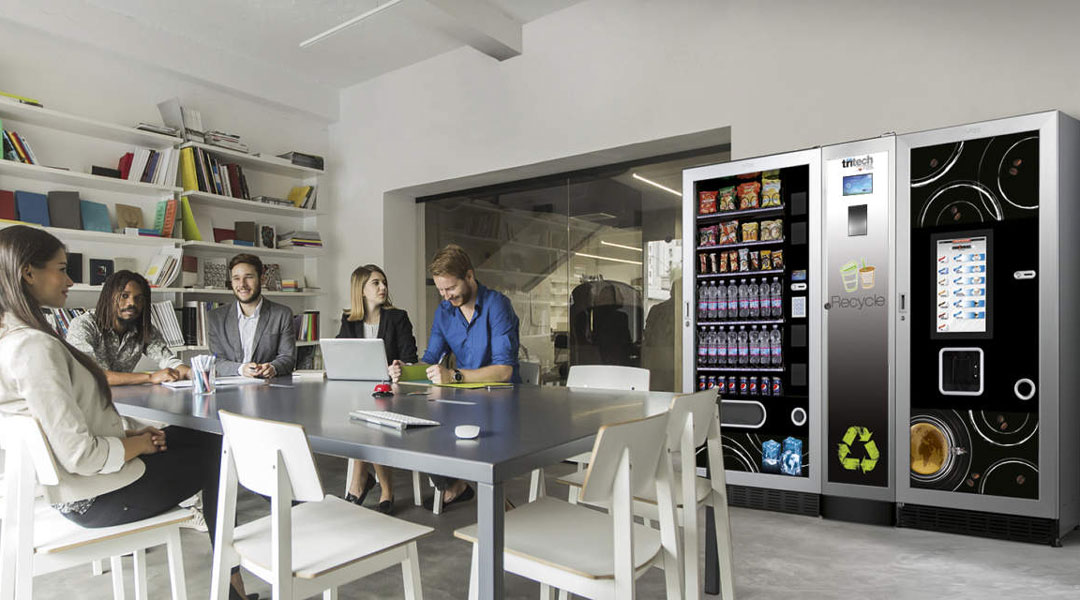 Vending machines in the corporate environment