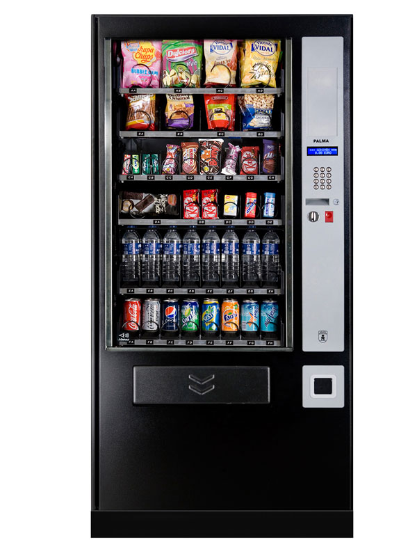 Snacks and Drink Combo Vending Machine
